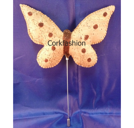 Brooch (LC-581 Model 1) from the manufacturer Luisa Cork in category Corkfashion